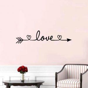 מדבקת קיר לזוגות צעירים