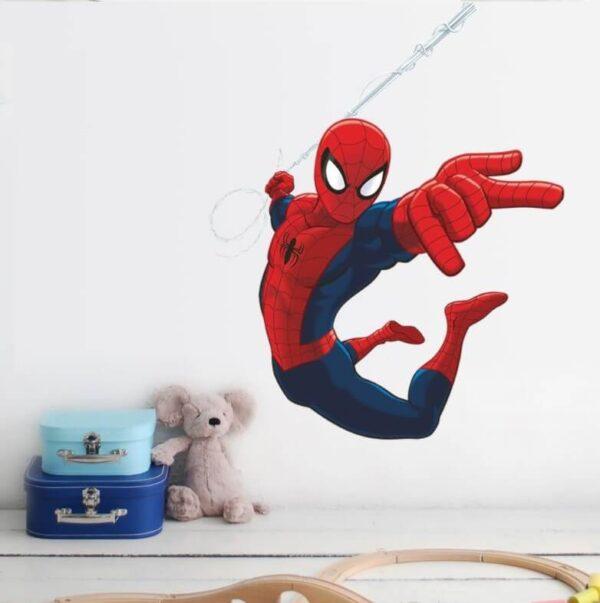 מדבקת קיר ספיידרמן גיבורי על תלת מימד