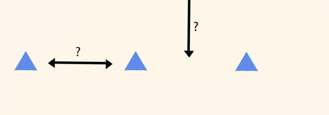 מה המרחק הדרוש בין מדבקה למדבקה כמעצבים קיר בדפוס חופשי